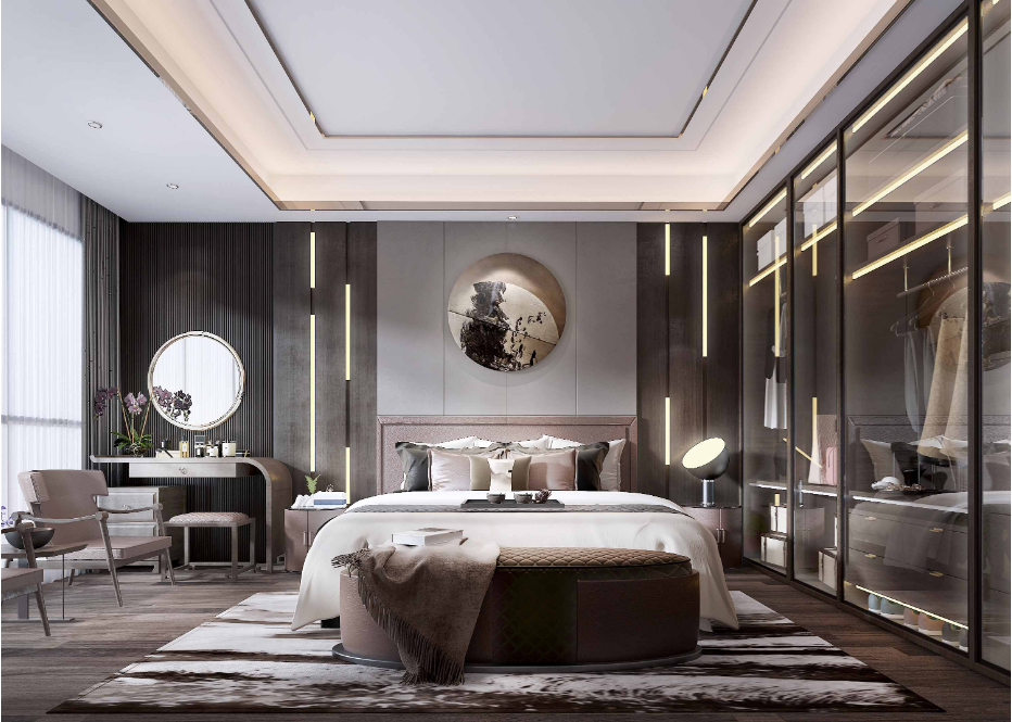 酒店房间居家卧室墙面不锈钢嵌条装饰.png