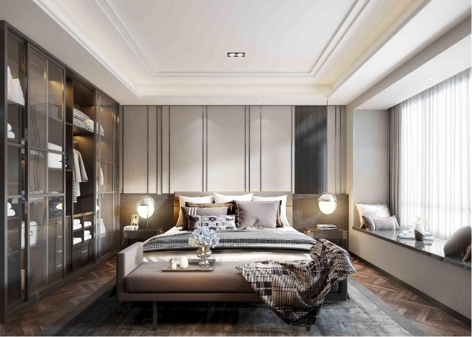 酒店房间居家卧室墙面不锈钢嵌条装饰2.png