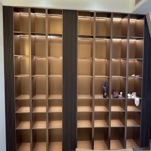 不锈钢金属层板柜